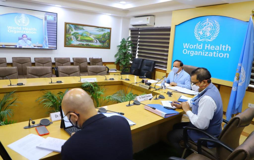 Dr Harsh Vardhan chairs WHO session