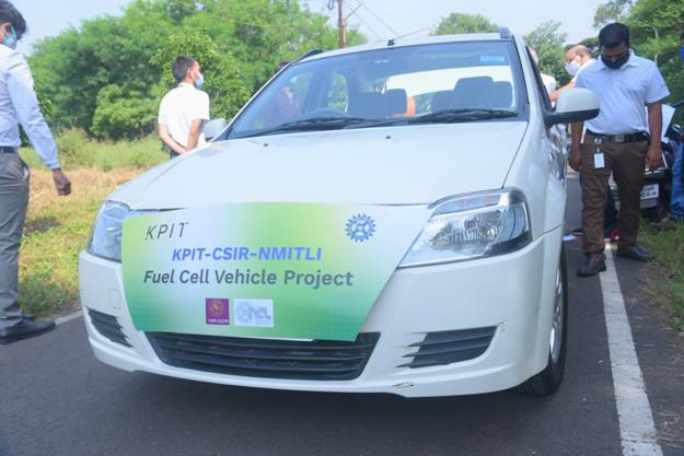 Hydrogen Fuel Cell fitted car