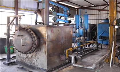 processing of municipal solid waste