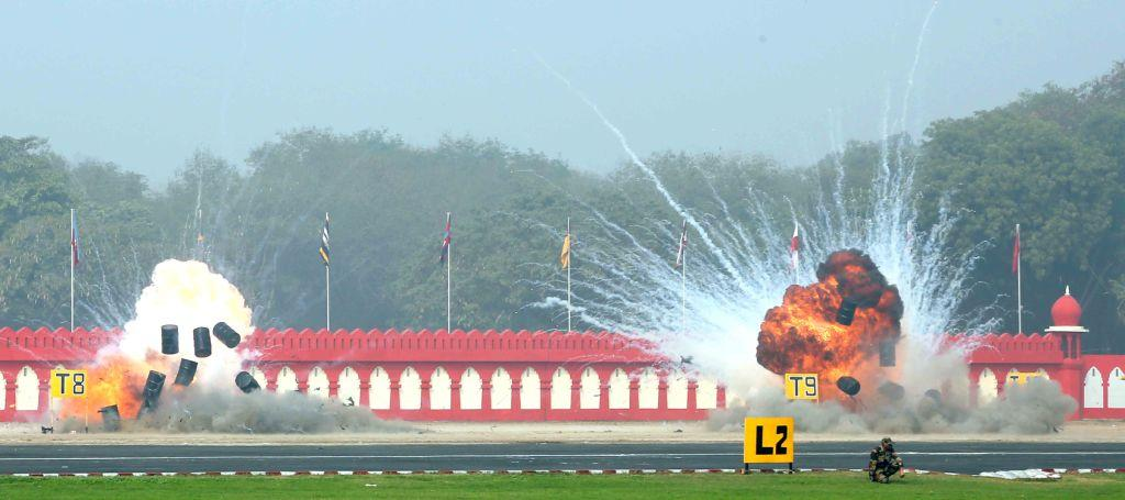 Indian Army demonstrates Drone Swarms