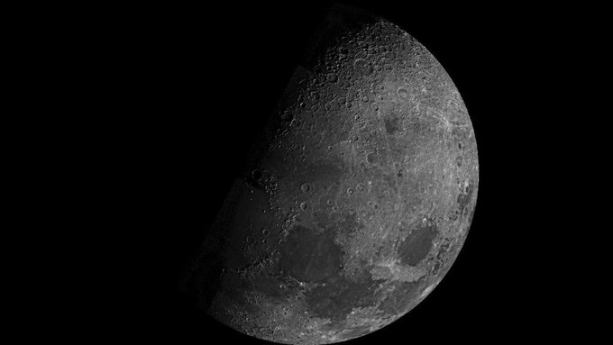 Images sent by Chandrayaan