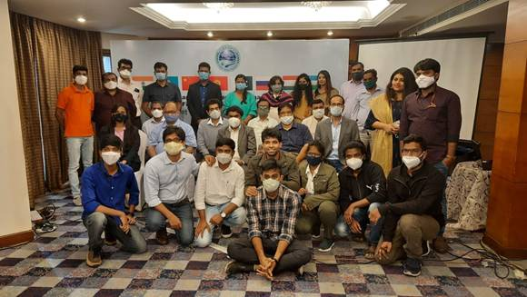 Young scientists share innovative ideas