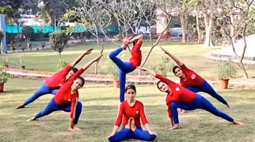 recognition of Yogasana as competitive sport