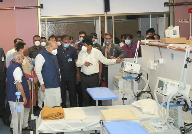 Dhanvantari Covid Hospital in Ahmedabad