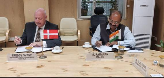 India-Denmark join hands through Atal Innovation Mission