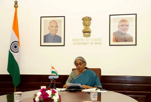 Sitharaman attends Virtual G20 Finance Ministers